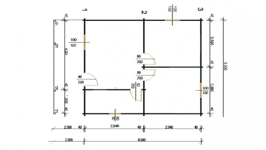 Villa's - Balaton 3C plan