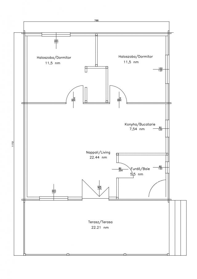 Villa's - Dawn plan