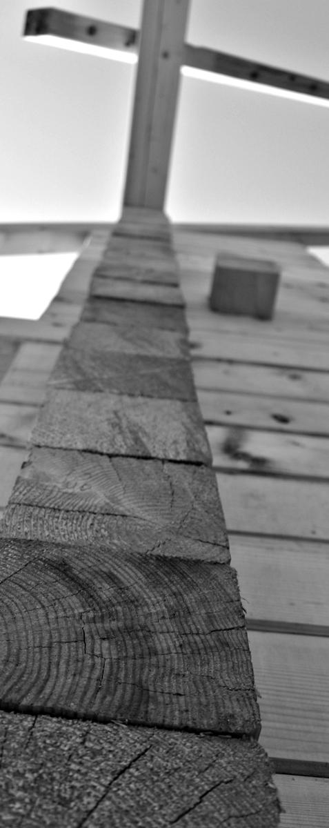 Wooden Buildings - Community Centre - Barn Farkaslaka