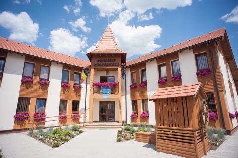 Brick Buildings - Mayor's Office Parajd Commune