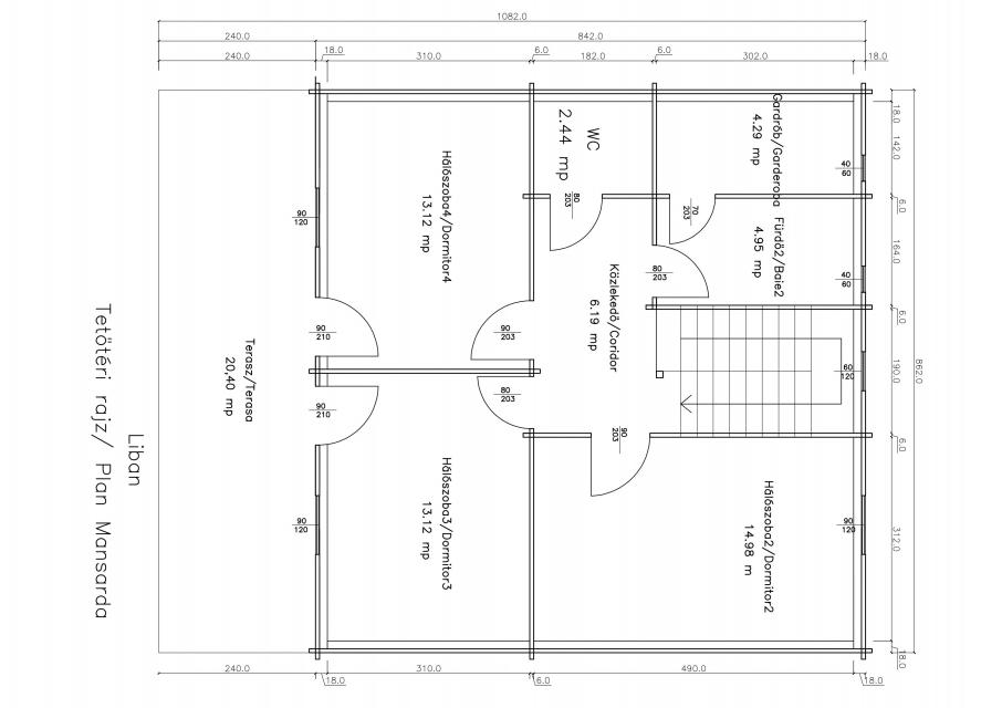 Family Houses - Libán plan